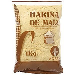 adquirir harina de maiz