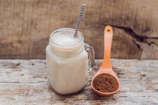 leche y la harina de algarroba