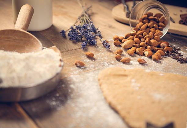 preparaciones con harina de almendra