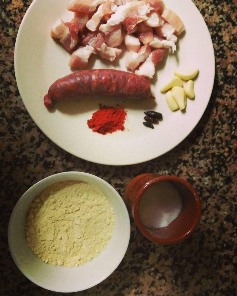 cocinar con harina de almortas
