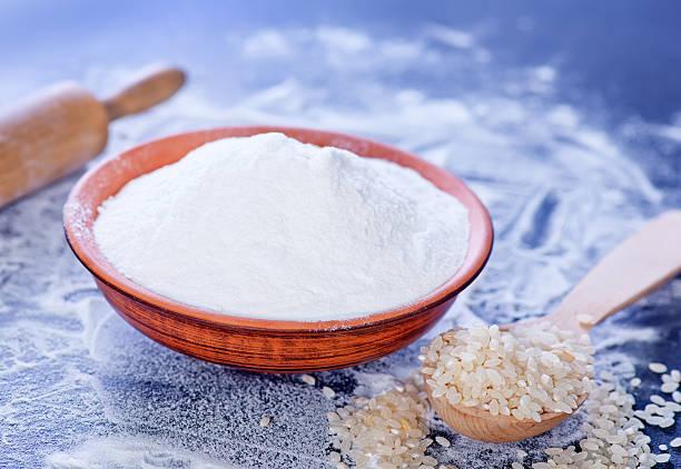 hacer harina de arroz