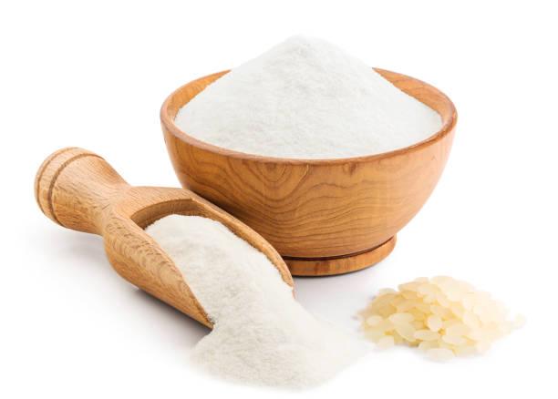 la harina de arroz glutinoso