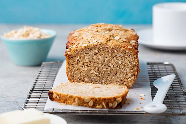 pan con harina de avena