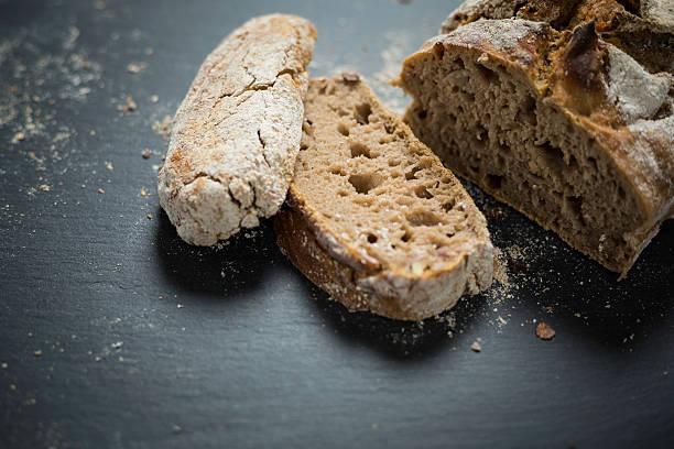 pan con elaborado con avena
