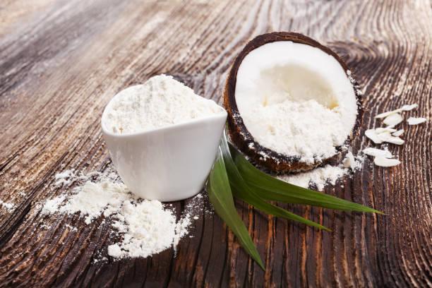 usar la harina de coco