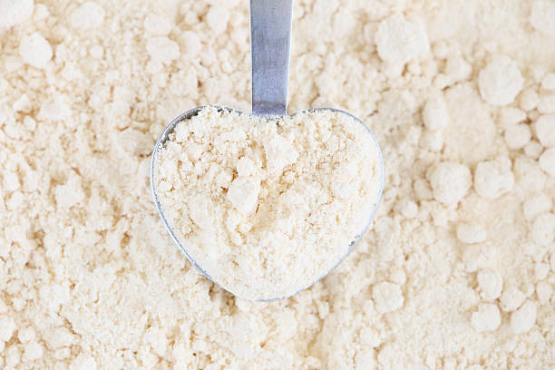 utilizar la harina de coco