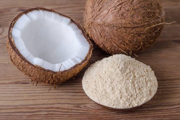 cocinar con harina de coco