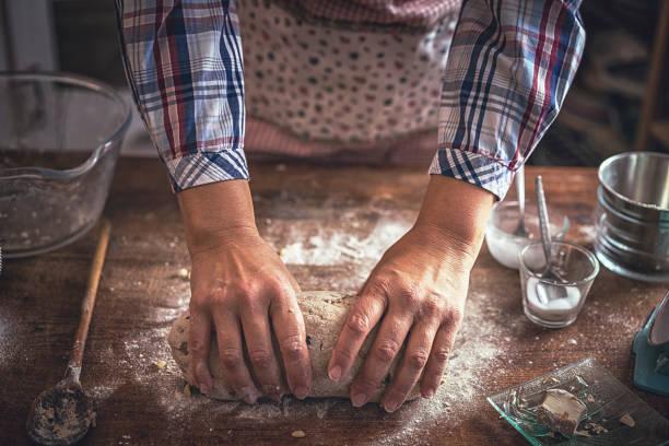 preparar pan con harina de espelta