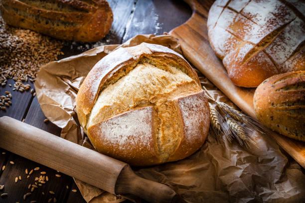 pan hecho con harina floja