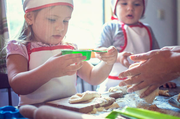 cocinar con harina leudante