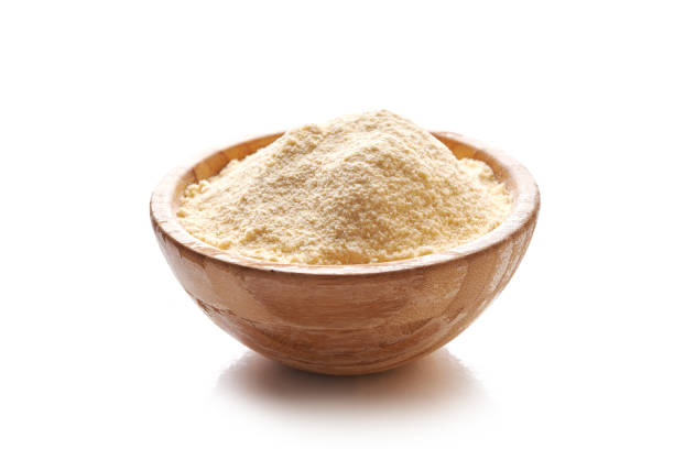 harina de maiz en bol