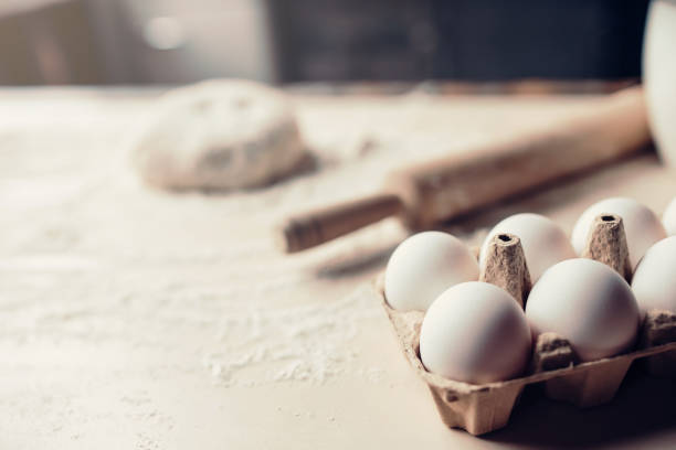 preparaciones con harina de reposteria