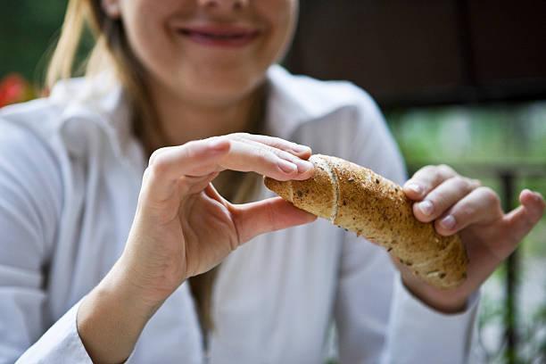 pan con harina de teff