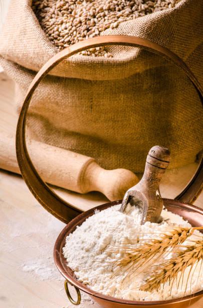 los beneficios de la harina de trigo
