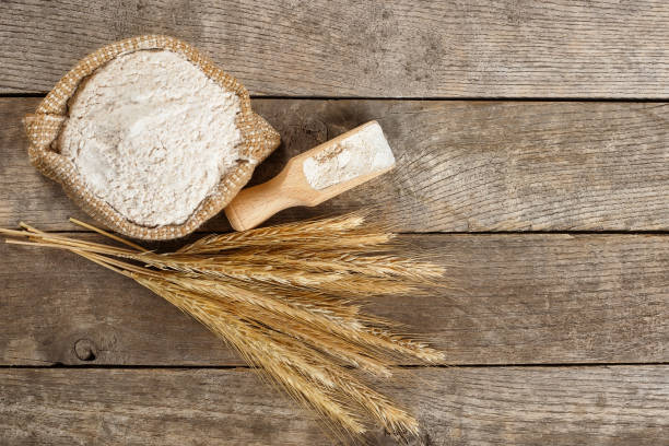 la harina de trigo