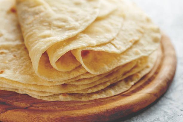 tortillas con harina de trigo