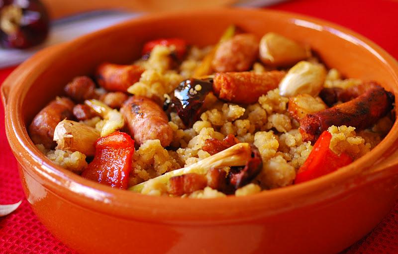 plato de migas de harina
