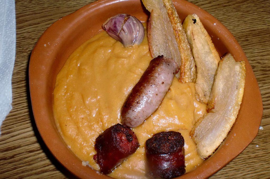 plato de guijas españolas