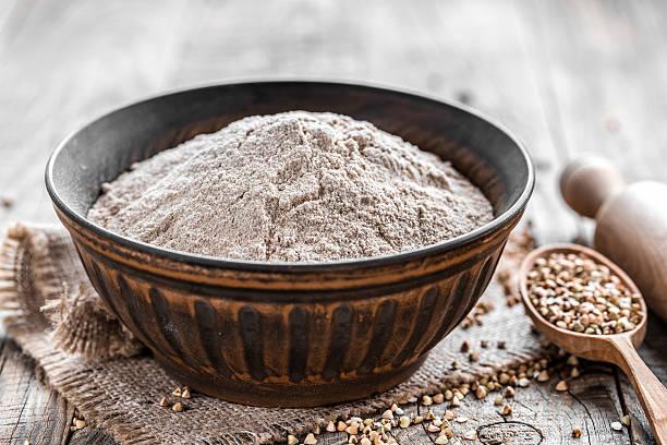 preparar con harina de alforfon