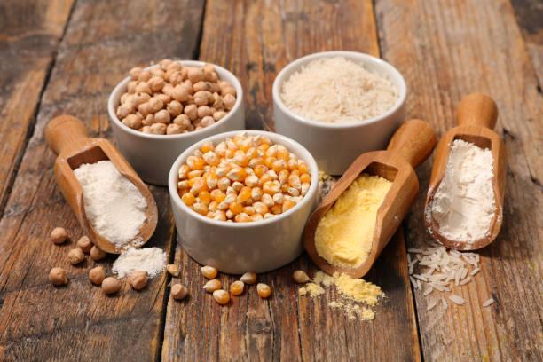 variedades de harina sin gluten