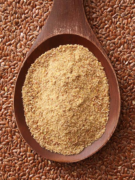 nutrientes de la harina de linaza