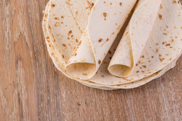 tortillas de harina recien hechas