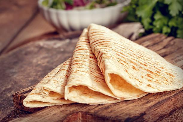 receta con tortillas de harina