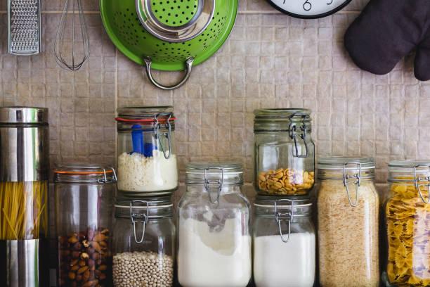 eliminar las polillas de la harina