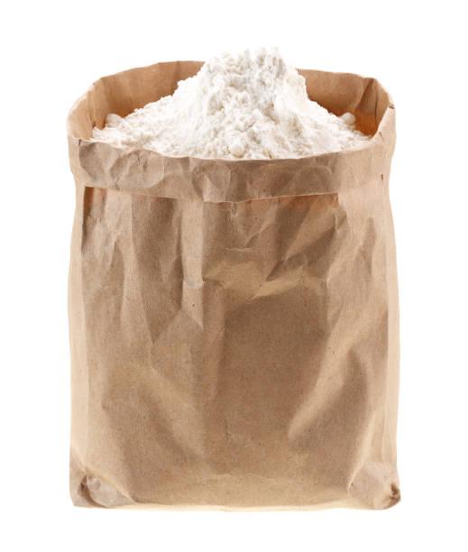 harina refinada en bolsa