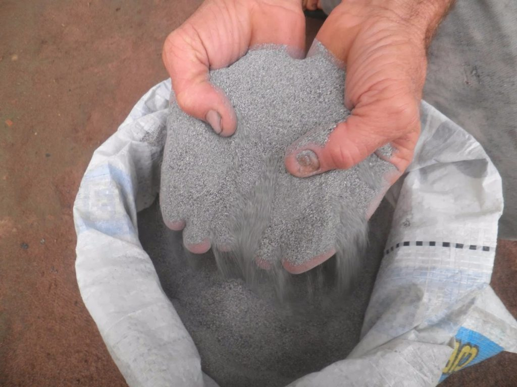 usos de la harina de roca