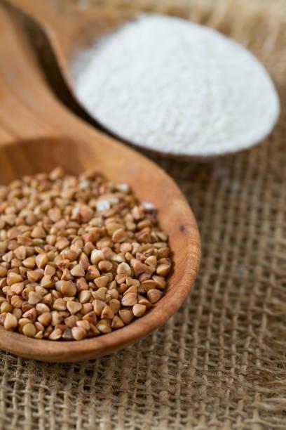 nutrientes de la harina de sarraceno