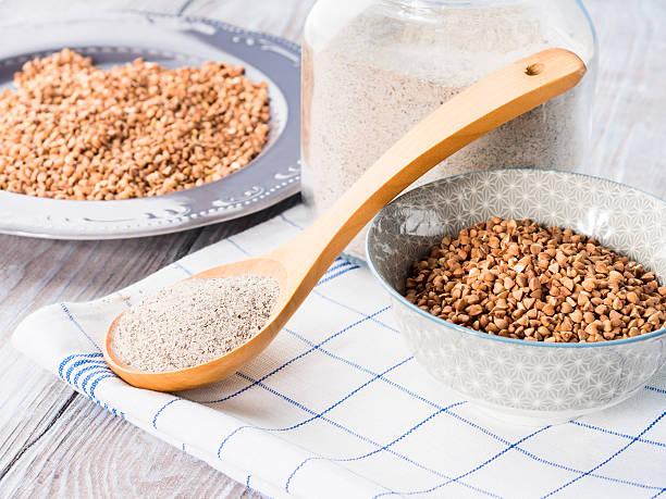 las recetas con la harina de sarraceno