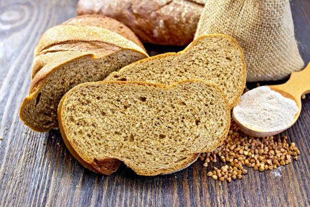 pan con harina de sarraceno