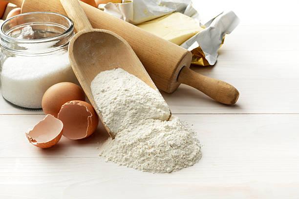 preparaciones con harina bizcochona