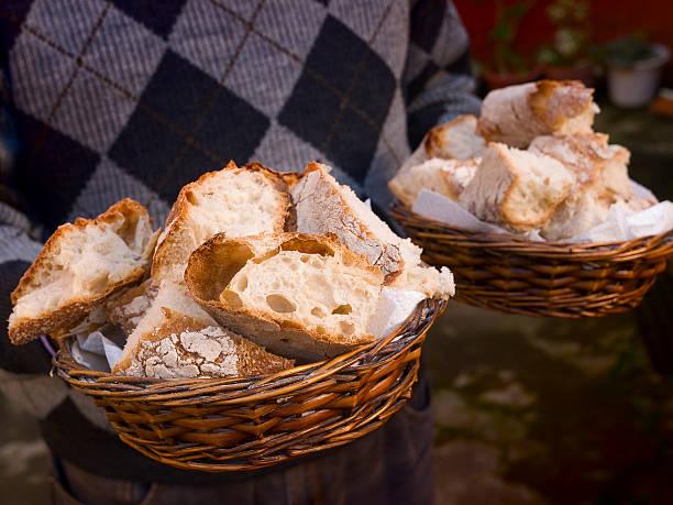 pan gallego en canasta