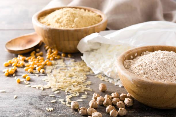 nutrientes de la harina guisantes