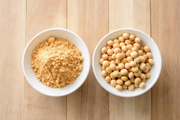 granos y harina de habas