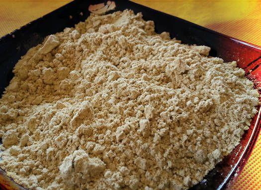 nutrientes de la harina tostada